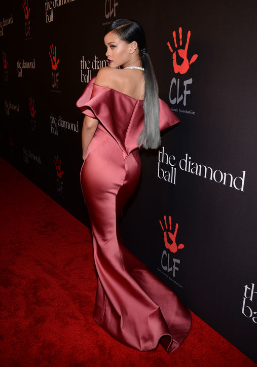 Rihanna Wows In Zac Posen Gown at Diamond Ball | A CUT ABOVE THE FRESH